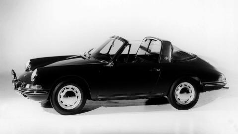 Porsche 911 Targa prototipo deportivo clásico