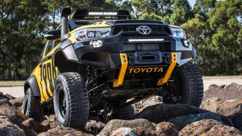 Toyota Hilux Tonka concept, ¡un juguete muy bestia!