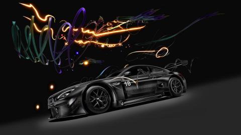 BMW M6 GT3 Art Car de Cao Fei