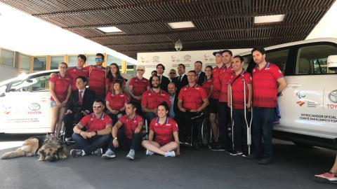 acuerdo entre Toyota y el Comité Paralímpico Español