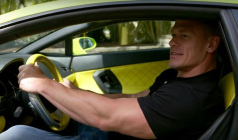 John Cena también tiene un Lamborghini Gallardo