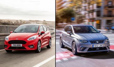 ¿Cuál es mejor, Seat Ibiza 2017 o Ford Fiesta?