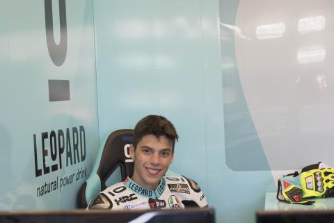 Joan Mir subirá a Moto2 en 2018 con Estrella Galicia