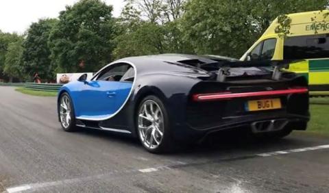Vídeo: a bordo del Bugatti Chiron