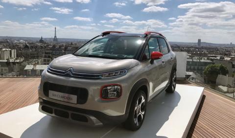 Citroën C3 Aircross presentación estática