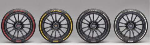 Pirelli P Zero Colour Edition