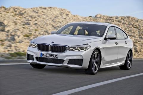 BMW Serie 6 Gran Turismo 2017: las fotos