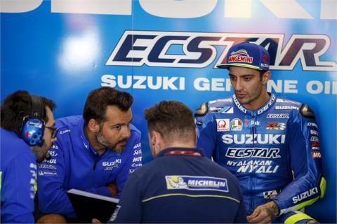 Andrea Iannone no puede con la Suzuki y busca alternativas