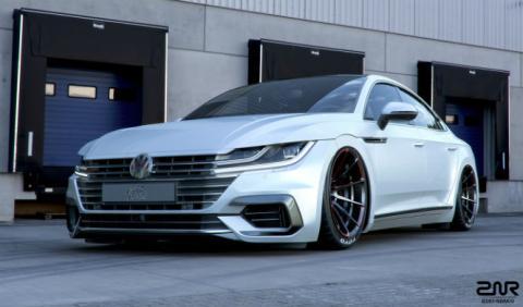 ¿Le queda bien el tuning al Volkswagen Arteon?