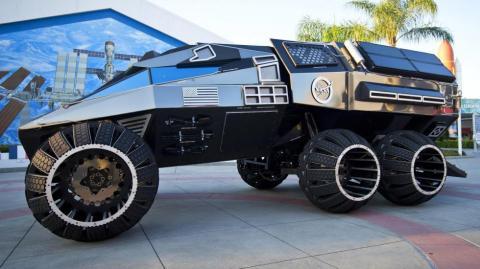 El coche que la NASA ha preparado para conquistar Marte