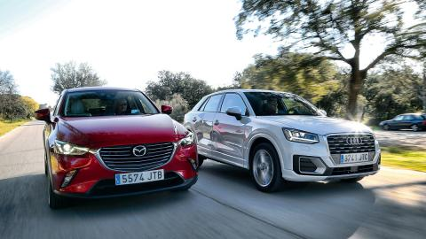 Comparativa Audi Q2 vs Mazda CX-3
