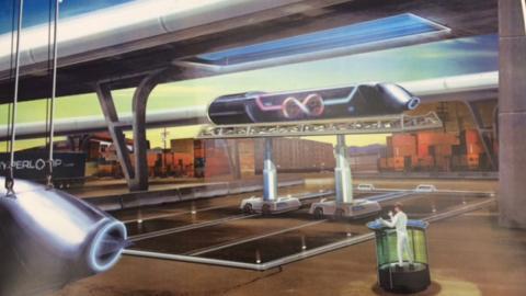 Cinco estudiantes españoles idean el prototipo de Hyperloop