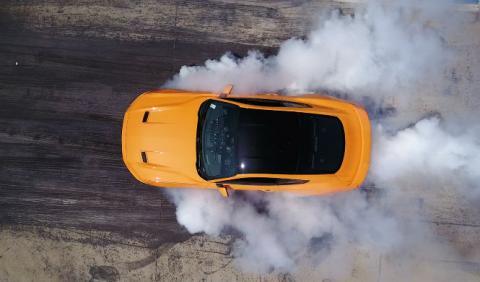 Todos los Mustang tendrán Line-Lock para quemar rueda