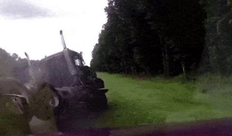 Vídeo accidente camión