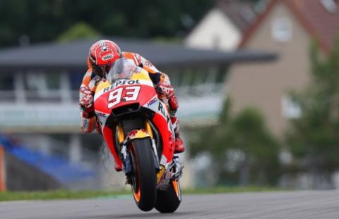 Carrera MotoGP Alemania 2017: triunfo y liderato de Márquez