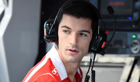 Alexander Rossi, piloto reserva de Manor para 2016