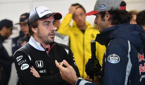 Alonso confiesa a Webber que correrá en Le Mans