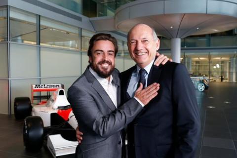 Alonso desvela las curiosas normas de Ron Dennis