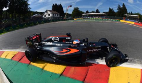 Alonso, penalizado y con nuevos problemas de motor en Spa