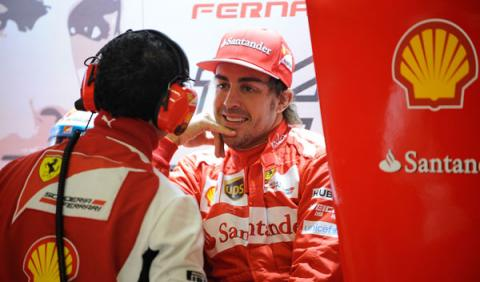 """Alonso: """"El podio, una agradable sorpresa"""""""