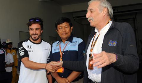 Alonso recibe el OK definitivo para correr en Malasia
