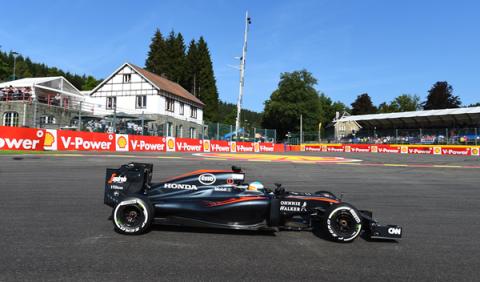 """Alonso en Spa: """"en clasificación, una vuelta y al garaje"""""""