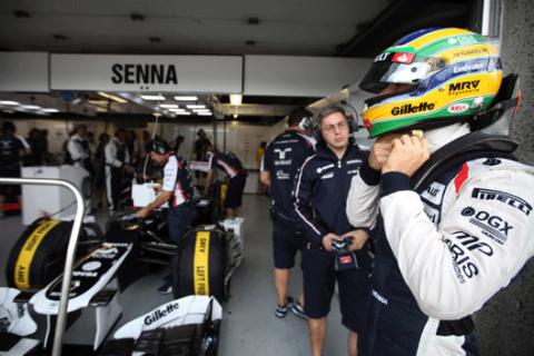 Bruno Senna - Williams - GP Canada 2012