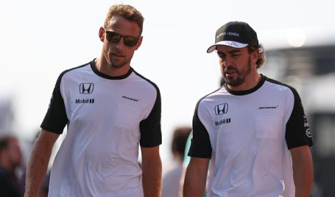 Button asegura que Alonso en su compañero ideal