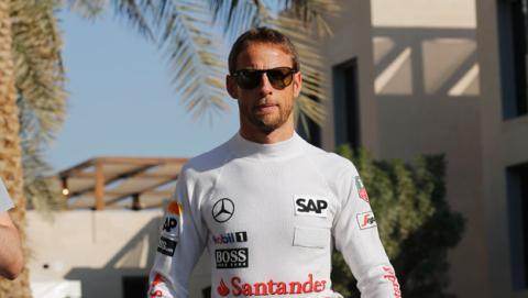 "Button: ""Es un privilegio poder correr con Fernando Alonso"""
