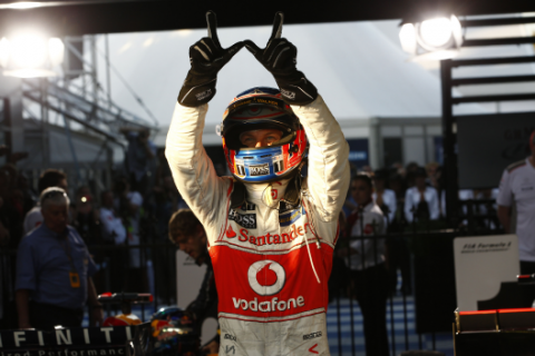 Button - McLaren - Australia 2012