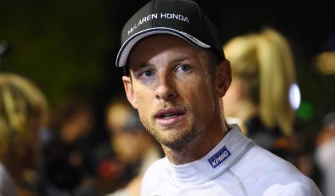 Button prueba un McLaren 650S para el nuevo Top Gear