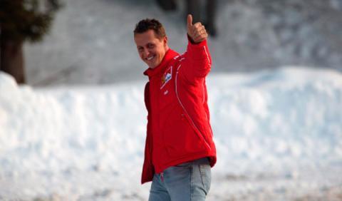 La cámara del casco de Schumacher no causó lesiones