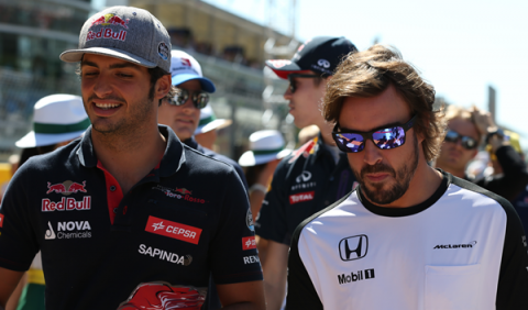 """Carlos Sainz: """"Alonso es como un espejo donde mirarte"""""""