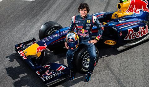 Carlos Sainz probará con Red Bull en los tests de Abu Dabi