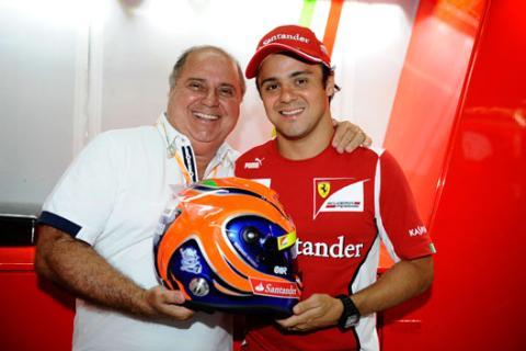 Casco - Felipe Massa - GP Brasil