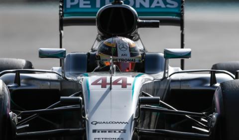 Clasificación Abu Dhabi: Hamilton, pole, quiere el título
