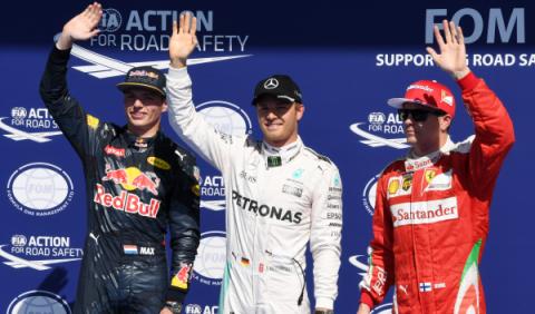 Clasificación F1 Bélgica 2016: 'pole' crucial para Rosberg
