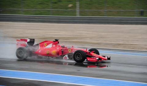 Comienzan los test de neumáticos de lluvia en Paul Ricard