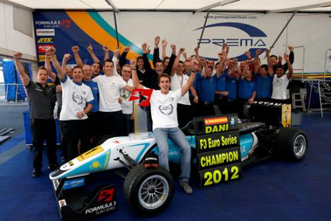 Dani Juncadella - Campeon F3 - 2012