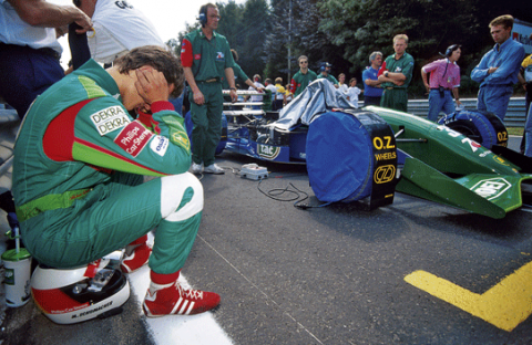 Debut Michael Schumacher - Jordan - Spa-Francorchamps - GP Belgica 1991