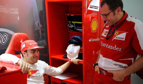Domenicali - Alonso