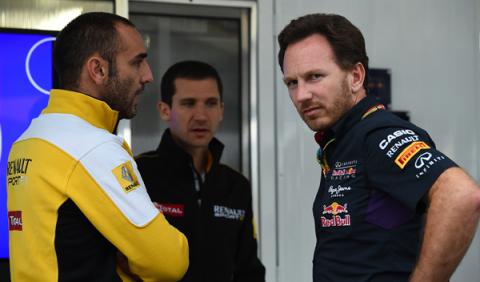 Enfado en Red Bull por el rendimiento del motor Renault