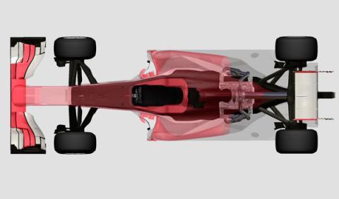 Esquema motor Ferrari 2014