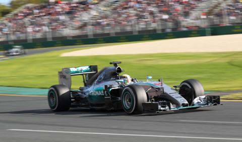 Los f1 de 2015, tres segundos más rápidos en Australia