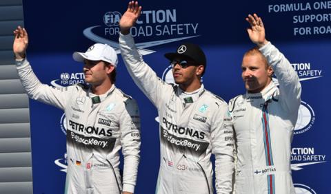 F1. Clasificación del GP Bélgica: Hamilton reina en Spa