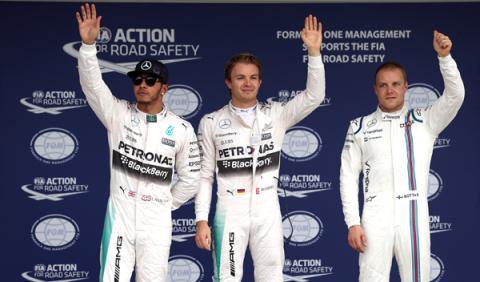 F1. Clasificación GP Japón: Rosberg, en pole por milésimas