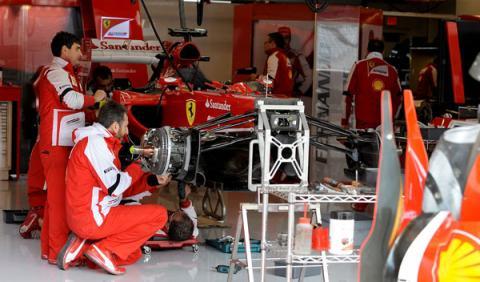 F1 en directo: clasificación GP EEUU 2013 (19.00h)