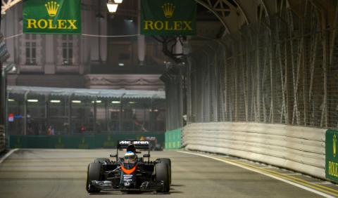 F1 en directo. Sigue la carrera del GP Singapur (15:00h)
