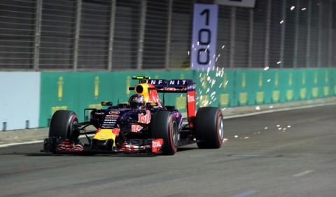 F1 en directo. Sigue la clasificación GP Singapur (15:00h)