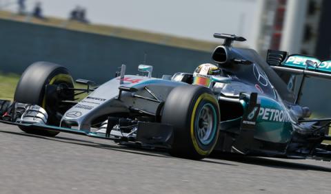 F1 en directo: sigue el GP China F1 2015 (08:00h)